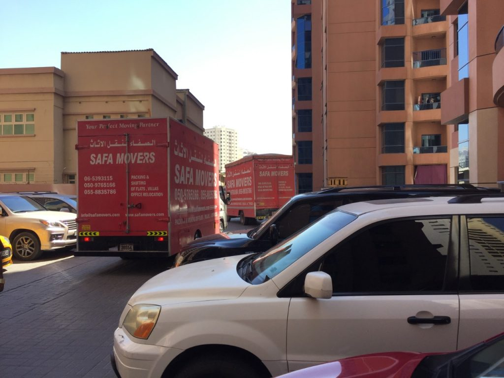 Shifting done by Safa movers and packers in Sharjah.